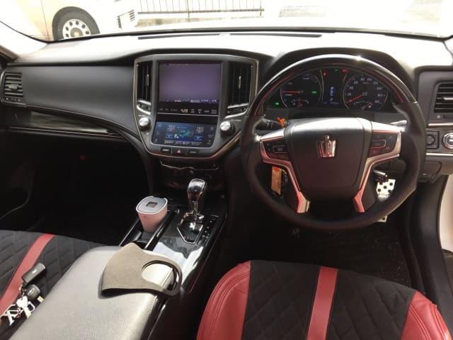 H25(2013年式) トヨタ クラウン ハイブリッド アスリートS